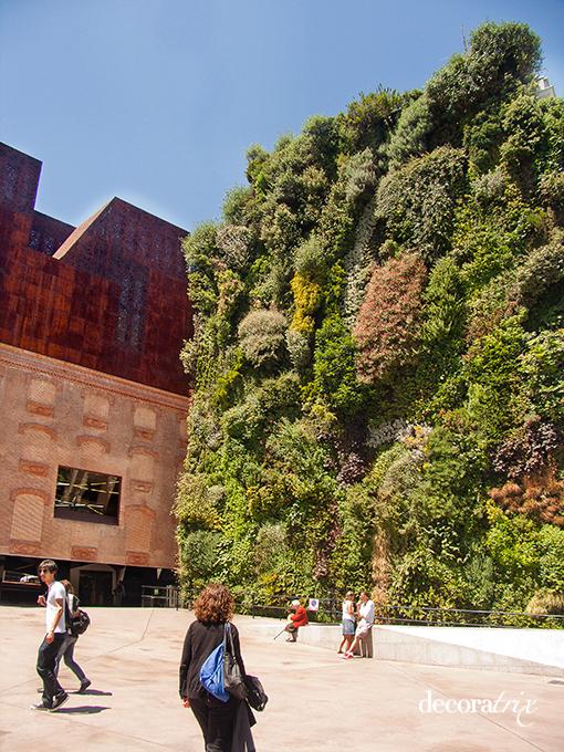 La plata viaja inicio for Jardin vertical madrid