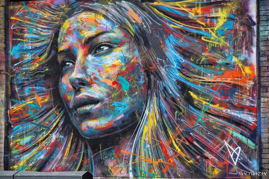 TOP10 Colores a cielo abierto, ciudades graffiteadas